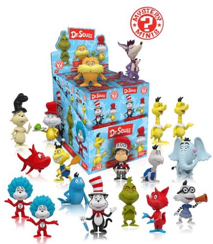 Funko Dr Seuss Mystery Minis Wave 1 Checklist Info Odds