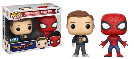Funko Pop Spider-Man Homecoming Vinyl Figures 16