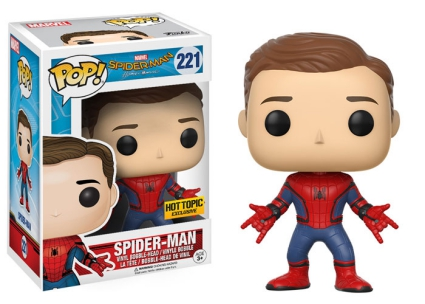 Funko Pop Spider-Man Homecoming Vinyl Figures 5