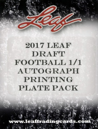 2017 Leaf Draft Football