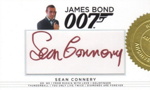 2017 Rittenhouse James Bond Archives Final Edition Trading Cards 26