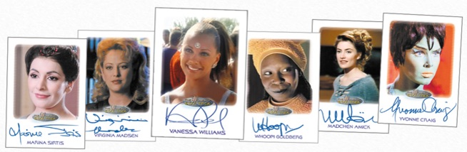 2017 Rittenhouse Women of Star Trek 50th Anniversary Trading Cards 3