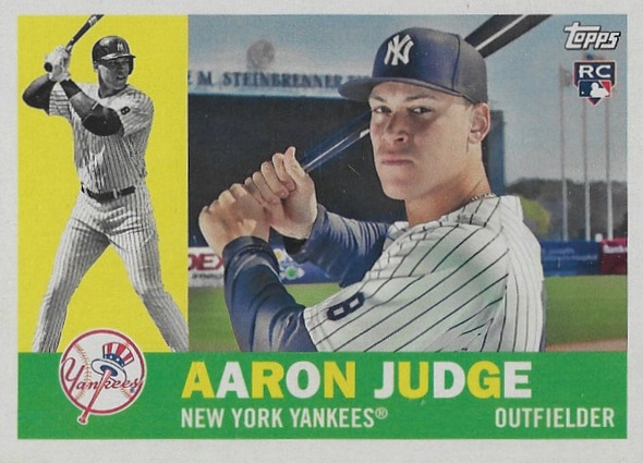 Aaron Judge Rookie Cards Checklist and Key Prospects 26