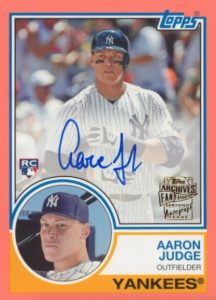 Aaron Judge Rookie Cards Checklist and Key Prospects 27