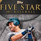 2017 Topps Five Star Baseball Cards