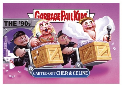 2017 Topps Garbage Pail Kids Network Spews Trading Cards - Updated 85