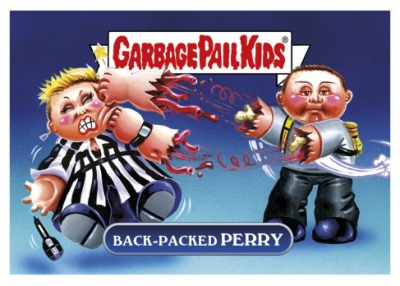 2017 Topps Garbage Pail Kids Network Spews Trading Cards - Updated 89