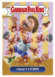 2017 Topps Garbage Pail Kids Network Spews Trading Cards - Updated 87