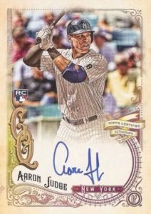 Aaron Judge Rookie Cards Checklist and Key Prospects 57