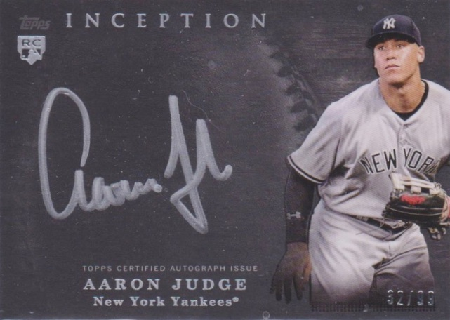 2017 Topps Inception Baseball