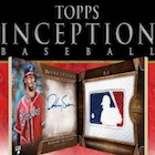 2017 Topps Inception Baseball Cards