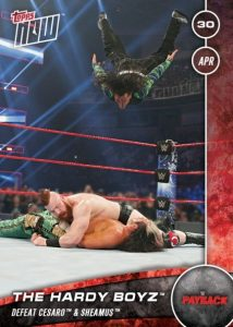 2017 Topps Now WWE Trading Cards 28