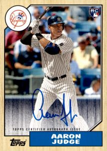 Aaron Judge Rookie Cards Checklist and Key Prospects 21