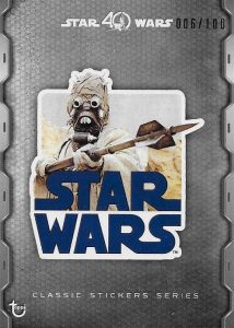 2017 Topps Star Wars 40th Anniversary Trading Cards 27