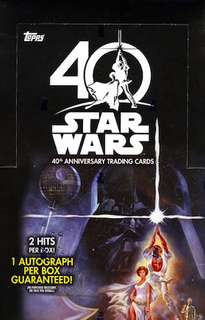 2017 Topps Star Wars 40th Anniversary Trading Cards 34