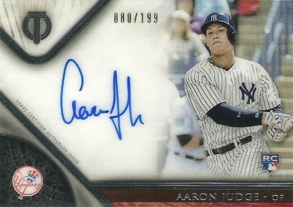 Aaron Judge Rookie Cards Checklist and Key Prospects 80