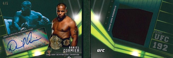 2017 Topps UFC Knockout MMA Cards 31