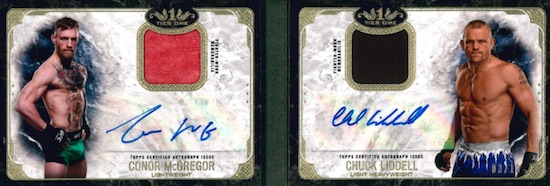 Dual Autographed Tier One Relic Book
