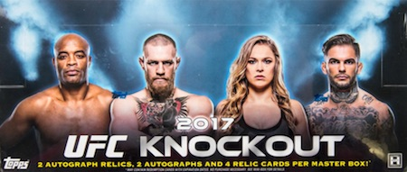 2017 Topps UFC Knockout MMA Cards 32