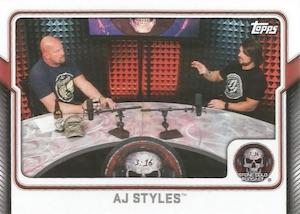 2017 Topps WWE Wrestling Cards 29