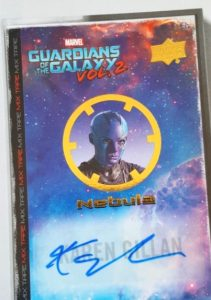 2017 Upper Deck Guardians of the Galaxy Vol. 2