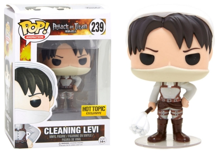 Funko pop vinyl figure attack on titan Armin Arlelt fye exclusive new box action