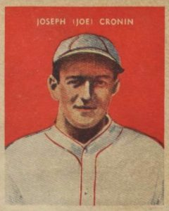 Top 10 Joe Cronin Baseball Cards 2