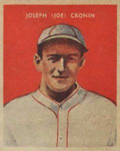 Top 10 Joe Cronin Baseball Cards 2
