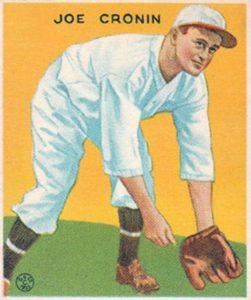 Top 10 Joe Cronin Baseball Cards 13