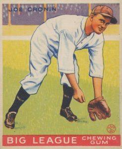 Top 10 Joe Cronin Baseball Cards 14