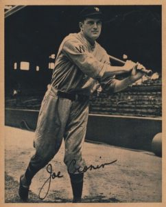 Top 10 Joe Cronin Baseball Cards 3
