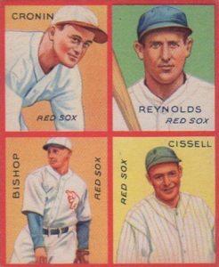 Top 10 Joe Cronin Baseball Cards 8