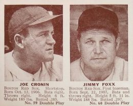 Top 10 Joe Cronin Baseball Cards 10