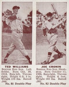 Top 10 Joe Cronin Baseball Cards 11
