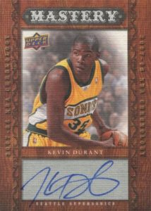 Top 15 Kevin Durant Rookie Cards 12