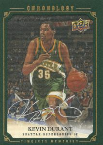 Top 15 Kevin Durant Rookie Cards 13