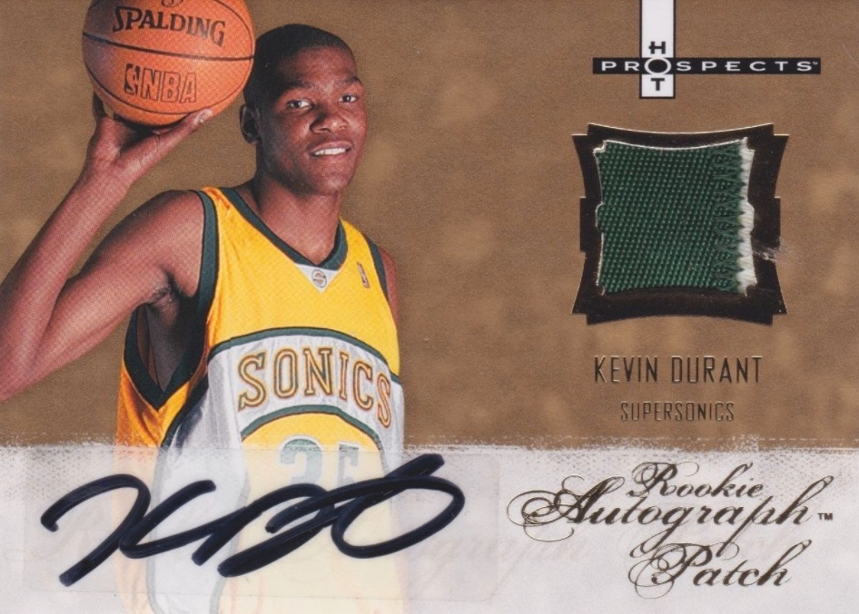 Top 15 Kevin Durant Rookie Cards 7