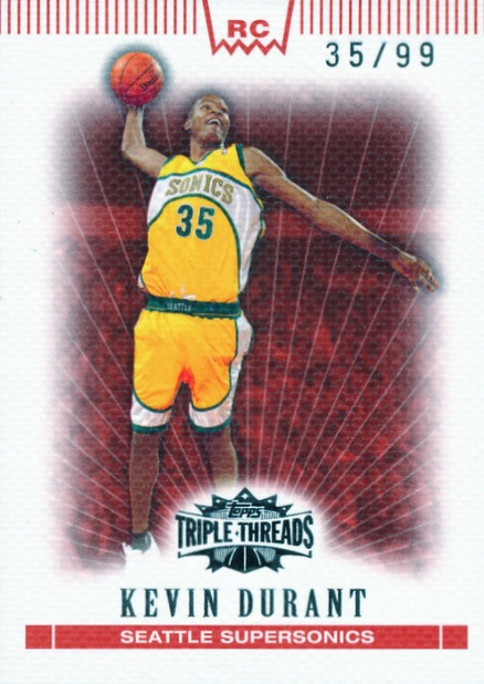 Top 15 Kevin Durant Rookie Cards 5