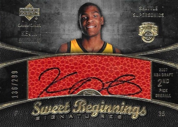 Top 15 Kevin Durant Rookie Cards 6