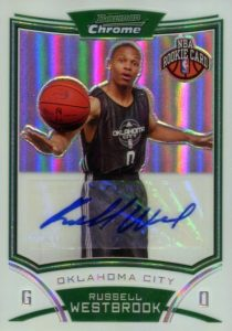 Top 10 Russell Westbrook Rookie Cards 2
