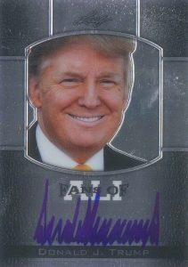 Donald Trump Card Collecting Guide and Checklist 9