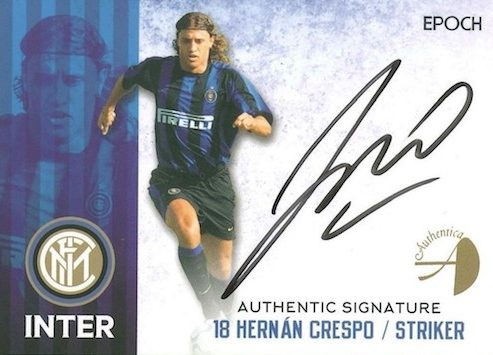 2016-17 Epoch FC Internazionale Milano Stars and Legends Soccer Cards 32