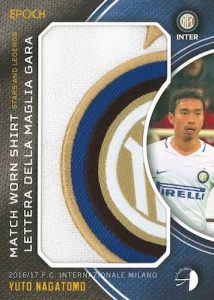 2016-17 Epoch FC Internazionale Milano Stars and Legends Soccer Cards 37