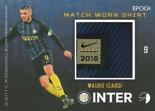 2016-17 Epoch FC Internazionale Milano Stars and Legends Soccer Cards 36