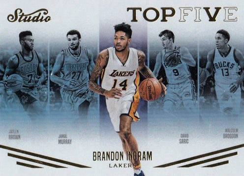 2016-17 Panini Studio Basketball Cards 32