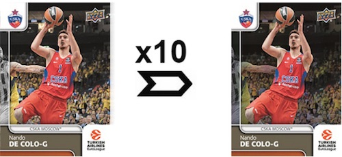 2016-17 Upper Deck Euroleague Basketball