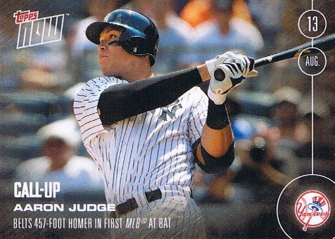 Aaron Judge Rookie Cards Checklist and Key Prospects 85