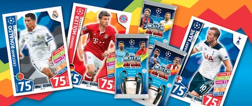 2017-18 Topps UEFA Champions League Match Attax