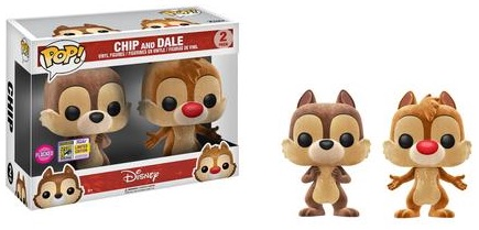 Funko Pop Chip and Dale Vinyl Figures 3