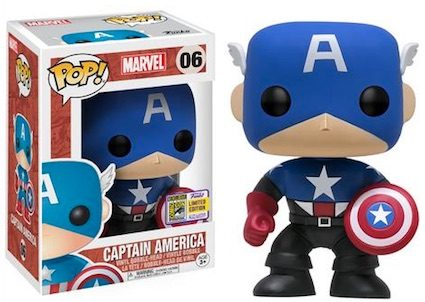 Ultimate Funko Pop Captain America Figures Checklist and Gallery 2